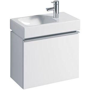 Geberit iCon xs Waschtischunterschrank 840052000 Alpin Hochglanz, 52x42x30,8cm, mit Auszug
