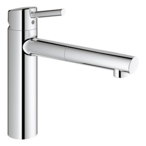 Grohe Concetto mixer 31129001 pull-out mousseur, chrome