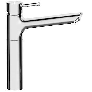 Hansa Waschtischarmatur Hansavantis Style 52472277 chrom, erhöhter Sockel, Ausladung 200 mm