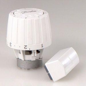 Danfoss Thermostatkopf RA/VL 2952 013G2952 Fernfühler 0-2m, weiß