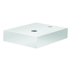 Kludi Plus Counter-Modul 49CM143 weiß, 405 x 312 mm, Wandmontage