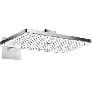 hansgrohe Rainmaker Select 460 Kopfbrause 24017400 weiss-chrom, 3jet, EcoSmart 9 l/m, Brausearm 450