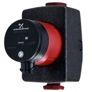 Grundfos Alpha 1 32-60 Heizungspumpe 99160423 Baulänge 180 mm, PN 10, Effizienzklasse A