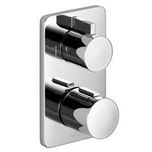 Dornbracht Fertigmontageset CULT 3642696000 Unterputz-Thermostat, chrom, 2 Wege Regulierung