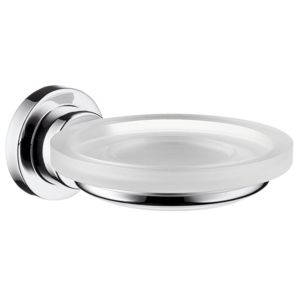 hansgrohe Seifenschale Axor Citterio M 41733000 Kristallglas, Halter Metall, chrom