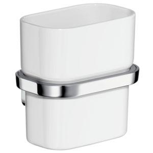 hansgrohe cup Axor Urquiola 42434000 verre opale, Halter métal, Halter