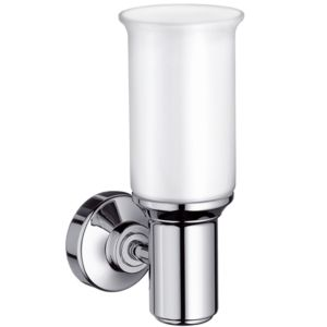 hansgrohe Wandleuche Axor Montreux Kristallglas, Halter Metall, polished nickel