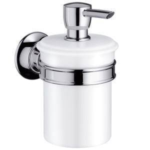 hansgrohe Lotionspender Axor Montreux 42019000 Keramik, Halter Metall, chrom