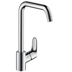 hansgrohe Focus E2 kitchen mixer 31820000 swivel spout, chrome