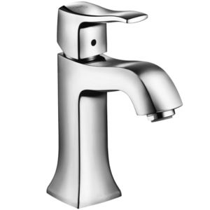 hansgrohe Metris Classic 31075000 Single lever basin mixer classic, chrome, including drain set