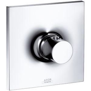 hansgrohe Fertigmontageset Axor Massaud Unterputz, Thermostatbatterie Highflow, chrom,