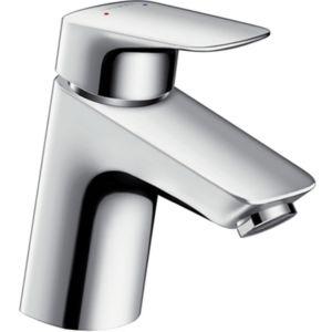 hansgrohe Logis 70 Waschtisch Armatur 71073000 chrom, Höhe 166 mm, ohne Ablaufgarnitur, CoolStart