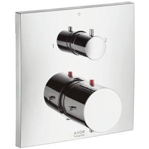 hansgrohe Thermostat Axor Starck X 10726000 Unterputz Thermostat Armatur, mit Ab-/Umstellventi
