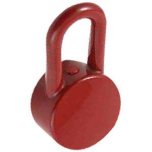 hansgrohe Griff Axor Uno Color, rot 13690430 für Wannen- und Brausemischer