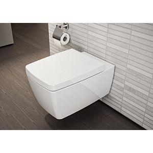 Vitra Metropole Wand WC Vitraflush 7672B003-0075 weiß, ohne Spülrand, Tiefspüler