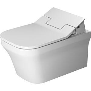 Duravit P3 Comforts Wand Tiefspül WC 2561592000 38x57cm, weiss, mit Durafix, rimless, HygieneGlaze