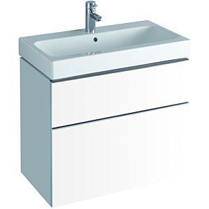 Keramag iCon Waschtischunterschrank 841375000 74 x 62 x 47,7cm, alpin matt, mit Schublade/Auszug