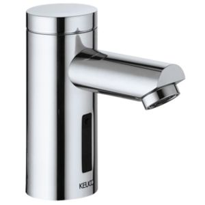 Keuco Waschtisch Armatur Plan 54911170100 Aluminium-Finish, Infrarot-Sensor, Battrerie