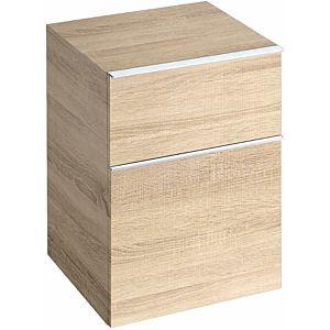 Keramag iCon Seitenschrank 841047000 45x60x47,7cm, Holzstruktur Eiche natur