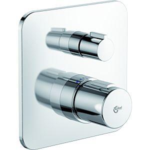 Ideal Standard Tonic II Brausearmatur A6344AA Thermostat, verchromt, Unterputz
