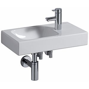 Keramag iCon xs wash basin 124053600 53 x 31 cm, white, Keratect, tray right