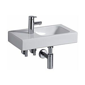 Keramag iCon xs Handwaschbecken 124153600 53 x 31 cm, weiss KeraTect, Ablage links