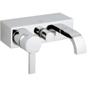 Grohe Allure bath Grohe Allure chrome, exposed