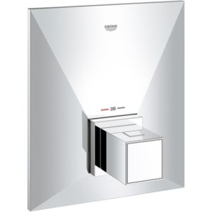 Grohe Fertigmontageset Allure Brilliant 19887000 Zentral Wannen Thermostat, chrom