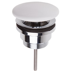 Villeroy & Boch Waschtischventil weiß 68090001  Abdeckung Keramik, nicht verschließbar