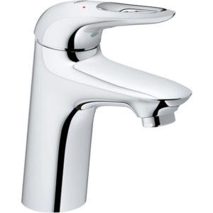 Grohe Eurostyle Waschtischarmatur 32468003 chrom, S-Size, Griff offen, ohne Ablaufgarnitur