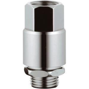 Grohe Sicherungskombination 41230000 chrom, DN15, mit Rohrbelüfter