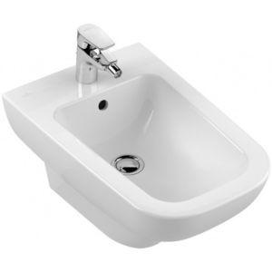 Villeroy & Boch Joyce Wand Bidet 540700R1  weiß Ceramicplus, 1 Hahnloch, mit Überlauf