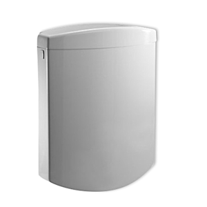 Sanit Bonito Duo cistern 91A04010099 white, with angle valve, 2-quantity actuation