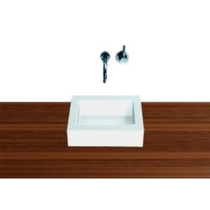 Alape Vasque à poser Q325.1 3300000000 carrée, 325 x 325mm, hauteur 90mm