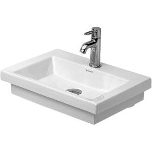 Duravit 2nd floor Handwaschbecken 07905000001 ohne Überlauf, 1 Hahnloch, weiss, wondergliss