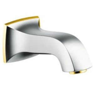 hansgrohe Metropol Classic Wanneneinlauf 13425090 chrom/gold-optik, Ausladung 159 cm
