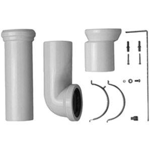 Duravit ME by Starck Vario Anschlussset 0014220000 Universal Abgang und Excenter, für WC