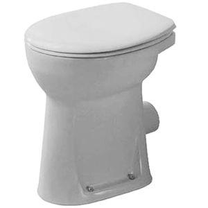 Duravit Duraplus Stand Flachspül WC 0212090000 weiss, Abgang waagerecht, Sudan