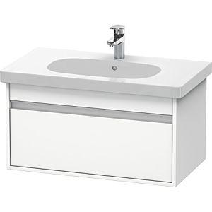 Duravit Ketho Waschtischunterschrank KT666701818 80 x 41 x 45,5 cm, Weiß Matt, für D-Code 034285