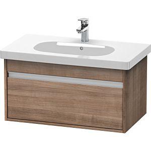 Duravit Ketho Waschtischunterschrank KT666707373 80x41x45,5cm,Tessiner Kirschbaum,für D-code 034285