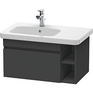 Duravit DuraStyle Duravit DuraStyle DS639404949 Graphite Matt , 73x44.8x39.8cm, basin on the left