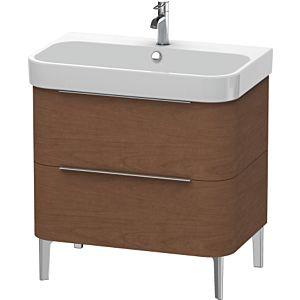 Duravit Happy D.2 Waschtischunterbau H2637301313 77,5x57,3x48cm, Amerik. Nussbau, 2 Schubkästen