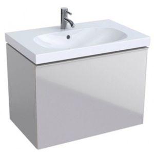 Keramag Acanto Waschtischunterschrank 500611JL2 74x53,5x47,6 cm, Glas Sand - Sand matt