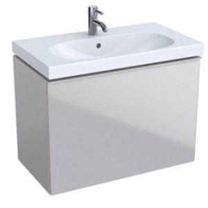 Keramag Acanto Waschtischunterschrank 500615JL2 Compact, 74x53,5x41,6 cm, Glas Sand - Sand matt