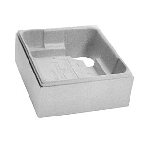 Poresta systems Support de receveur de douche à Bette 5940 1000 x 1000 x 35 mm, hauteur 130 mm