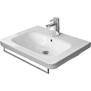 Duravit DuraStyle Handtuchhalter 0031051000, chrom 589mm, Quadratrohr 14 mm, für Waschtisch 232065