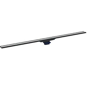 Geberit CleanLine 60 Duschrinne 154456001 30-90 x 4,3 cm, Metall dunkel/Metall gebürstet
