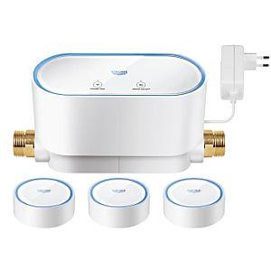 Grohe Sense Guard mit 3 Grohe Sense Wassersensoren im Set 22502LN0, weiß