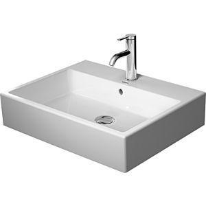Duravit Vero Air Aufsatzwaschtisch 23526000001 weiß wondergliss, 60x47cm, mit Hahnloch