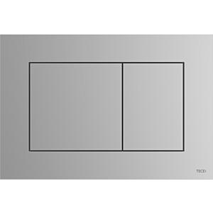 TECEnow Betätigungsplatte 9240402 chrom matt, Zweimengentechnik